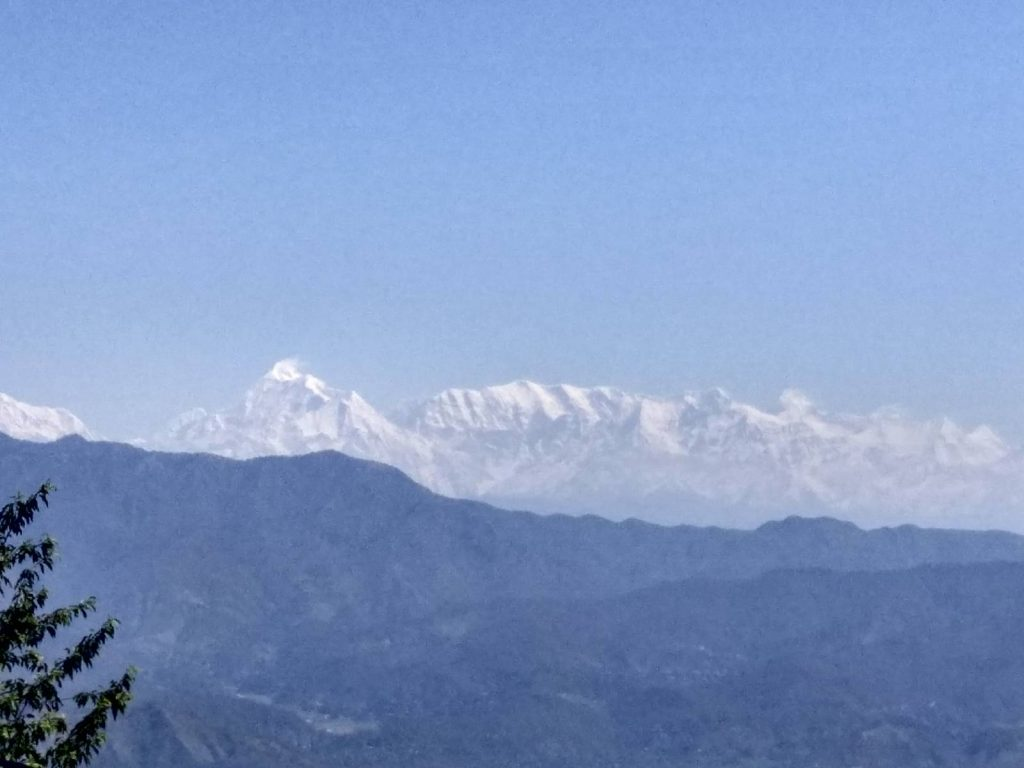 Beautiful Nepal Himalayas View