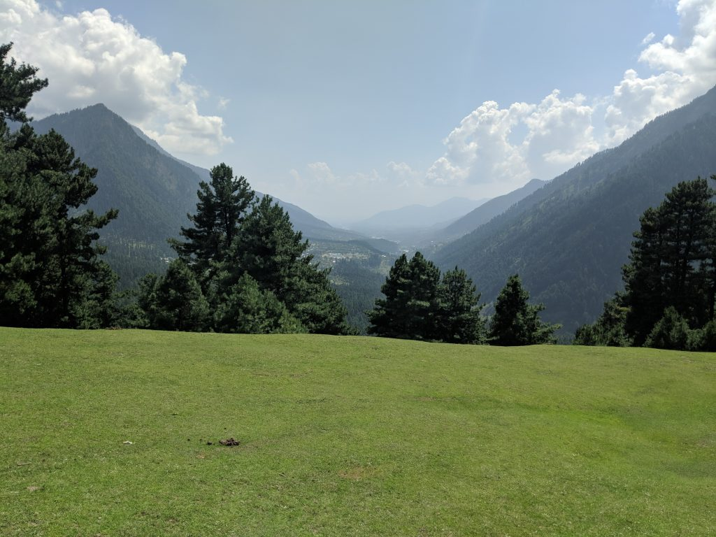 Kashmir Valley View