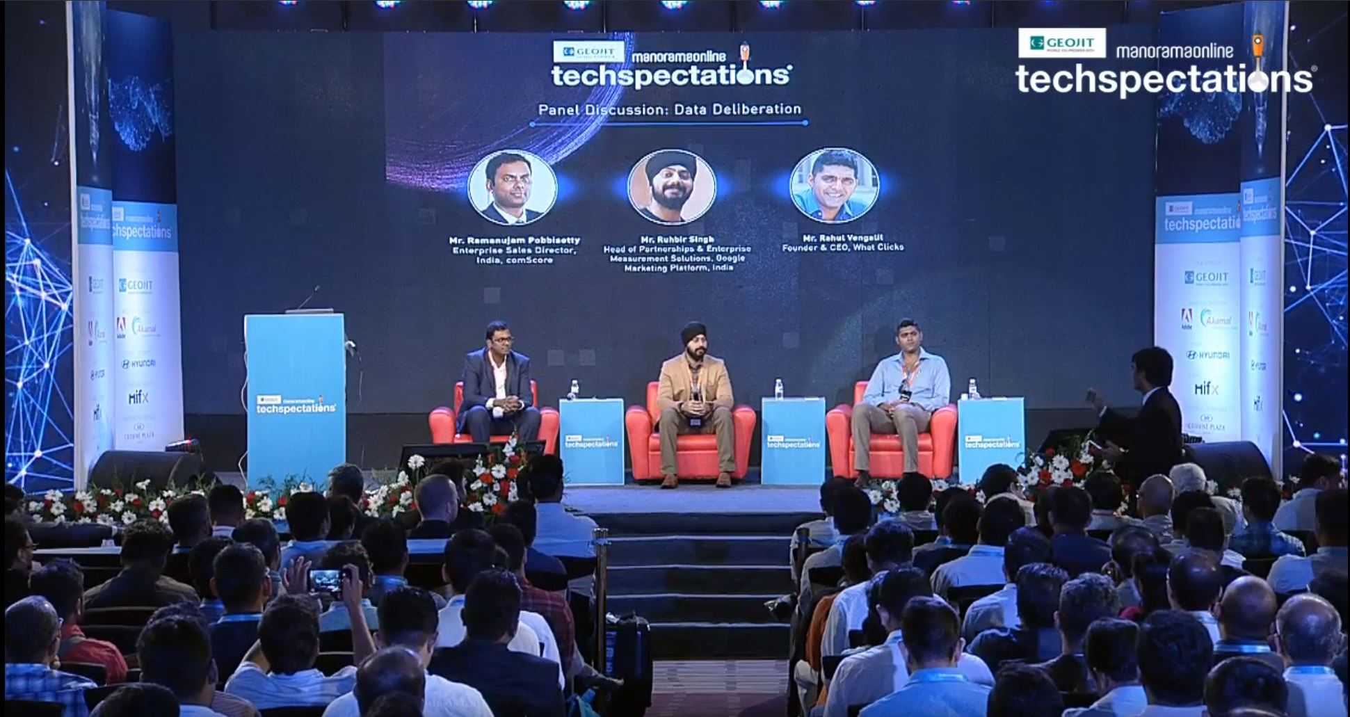 Ruhbir as speaker at Techspectations 2018